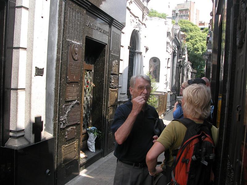 2005-02-21 The grave of Evita. Argentina