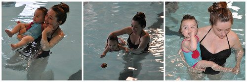 Waverlys First Swim Lesson | by The Dirty Martini Diaries