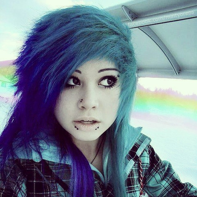 Girl hot emo The 70+