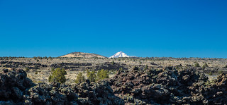 Lava Beds National Monument with Mt Shasta | by zoxcleb