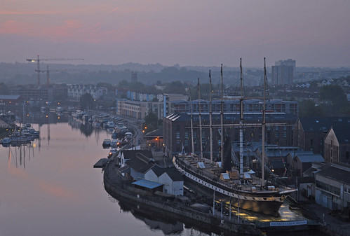 uk morning england southwest west sunrise bristol dawn britain south united great kingdom gb avon ssgreatbritain brunel cliftonwood