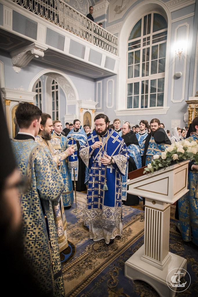 14 февраля 2017, Всенощное бдение накануне праздника Сретения Господня / 14 February 2017, Vigil on the eve of the Meeting of the Lord
