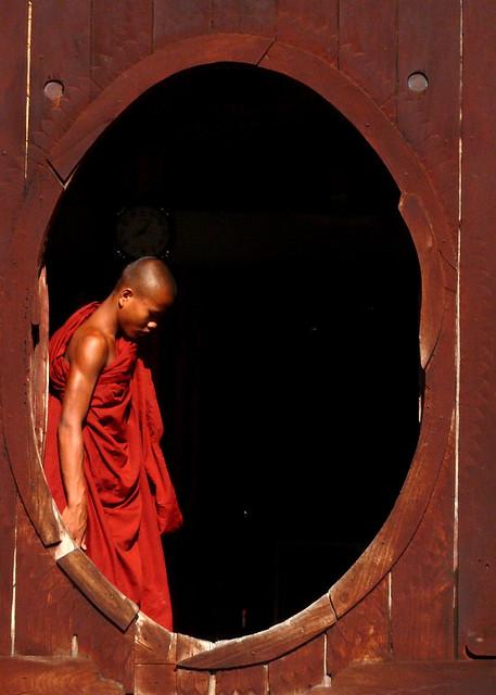 Moine à Kyaun Shwe Yaunghwe