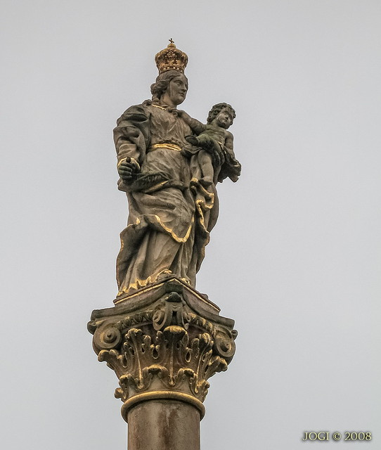 Duderstadt, Altstadt, Stele am Rathaus, Niedersachsen (Harzvorland)