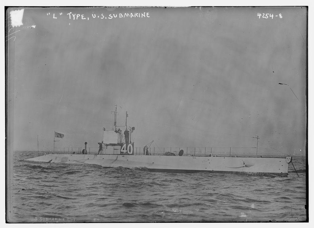 L type, U.S. submarine (LOC)