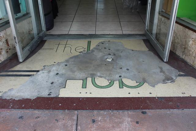 The Hub Terrazzo Floor Downtown Miami