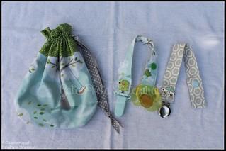 "Conjunto de maternidade ""Windy Day"" | by GataPreta Artesanato"