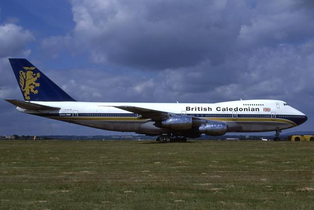 G-GLYN (British Caledonian)