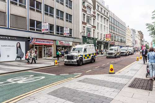 Security Operation - Queen Elizabeth and Prince Philip visited Belfast on June 24th. | by infomatique