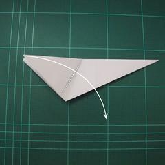 การพับกระดาษเป็นไดโนเสาร์ทีเร็กซ์ (Origami Tyrannosaurus Rex) 023