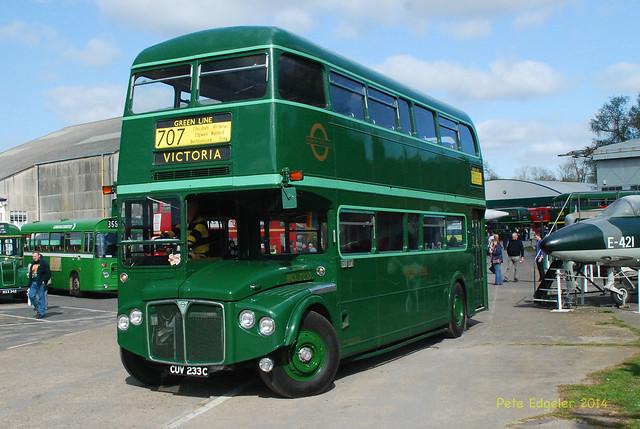 CUV233C 1965 AEC Routemaster Coach ex LT RCL2233