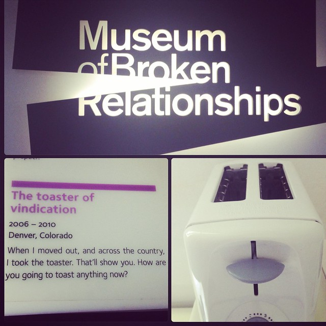 Another fave from The Museum of Broken Relationships @BrokenShips: