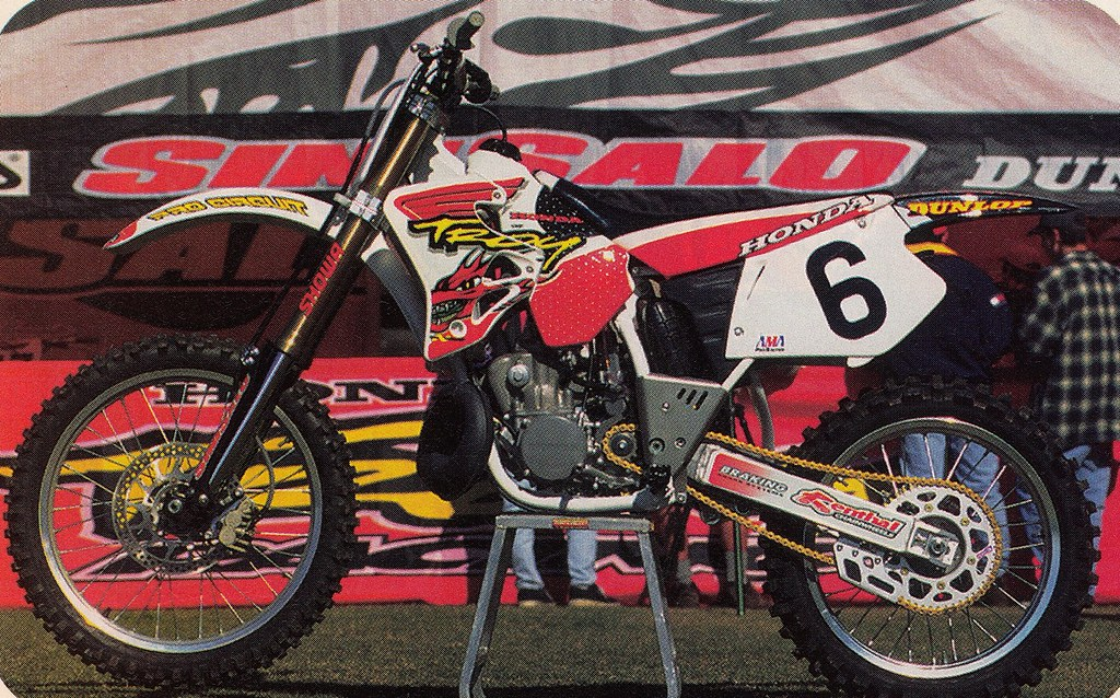 Honda Of Troy >> 1996 Honda Of Troy Cr250r Of Larry Ward Tony Blazier Flickr