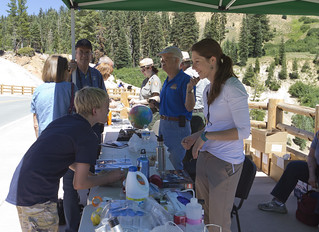 NASA Tent Michael Silverman | by LassenNPS