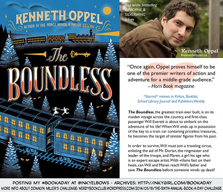 #BookADay: BOUNDLESS by Kenneth Oppel (Simon & Schuster Books For Young Readers) | by Inkygirl