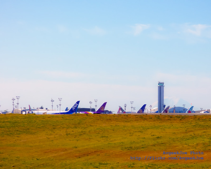 A View of Paine Field from my hike to Future of Flight