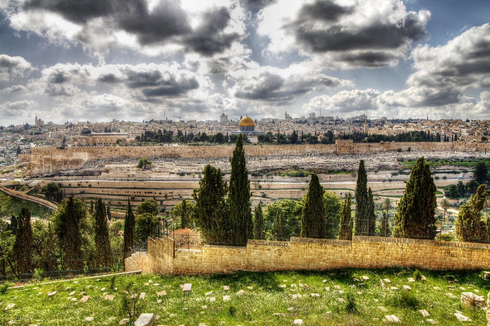 Jerusalem-View to the Old city_Noam Chen_IMOT