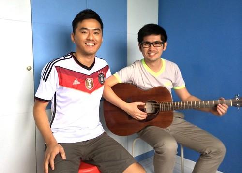 Guitar lessons Singapore Zhen Hua