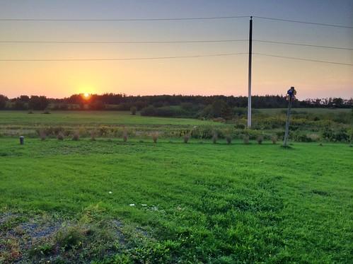 sunset riverjohnnovascotia