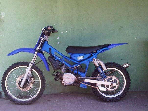 Modifikasi Motor Bebek Jadi Motor Garuk Tanah Modifikasi M Flickr
