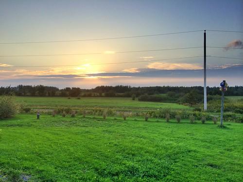 sunset novascotia riverjohn