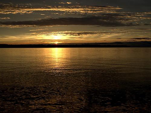 sunset beach adventure