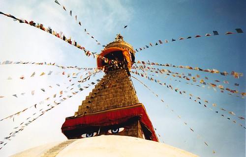 Boudhanath stupa, Kathmandu, Nepal   by Jasmine Halki