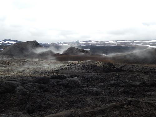 IJsland - Leirhnjukur - 2
