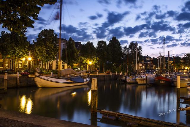 Maartensgat - Dordrecht at dawn