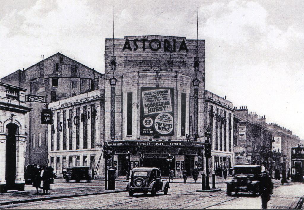 Finsbury Park, Seven Sisters Road & Astoria Cinema 9  Flickr