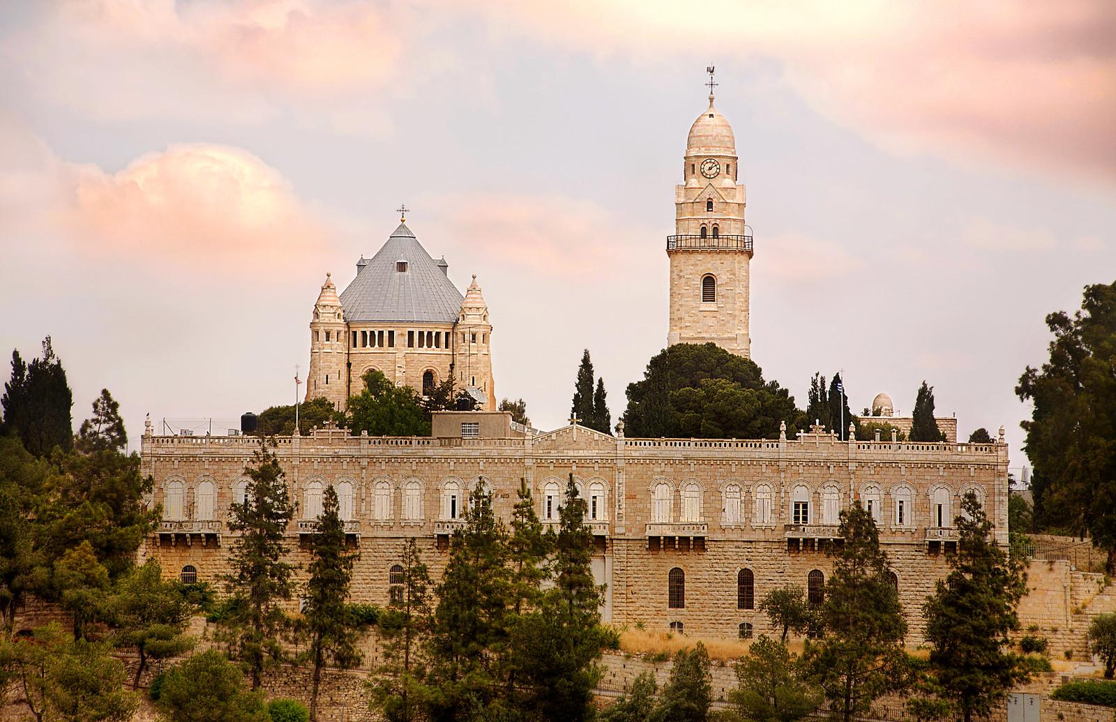 Jerusalem_Dormition Abbey_1_Noam Chen_IMOT