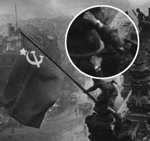 Bandera Soviética sobre el Reicshtag