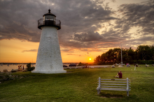 light sunset lighthouse unitedstates massachusetts newengland mattapoisett nedspoint