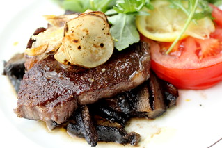 400kcal steak   by with wind