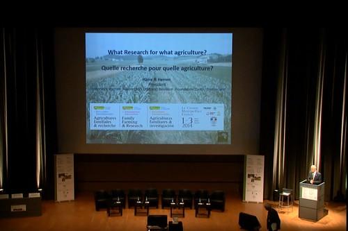Stéphane Le Foll à Montpellier pour les Rencontres sur l'agriculture familiale