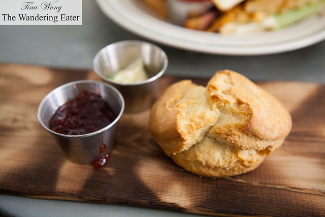 House made biscuit