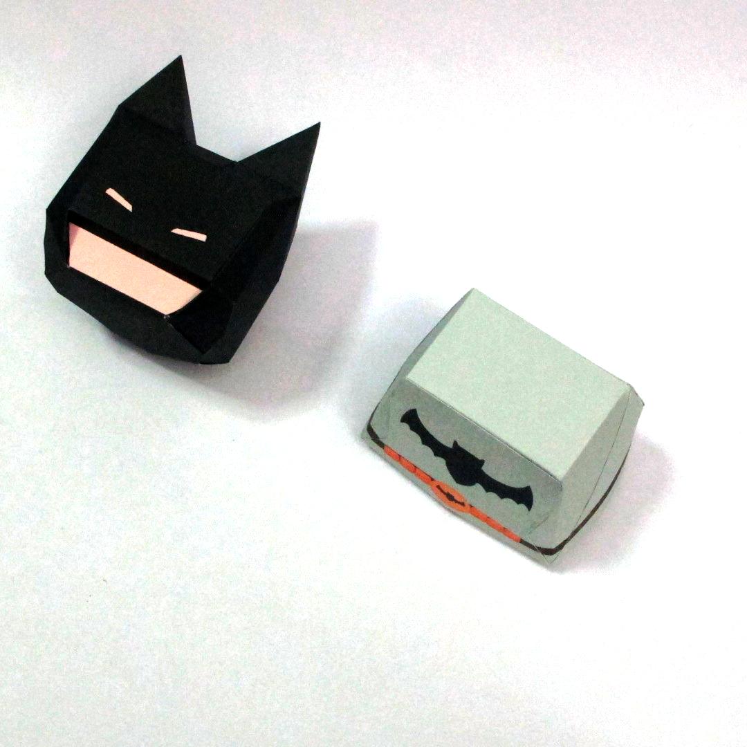 วิธีทำโมเดลกระดาษแบทแมน (Batman Papercraft Model) 011