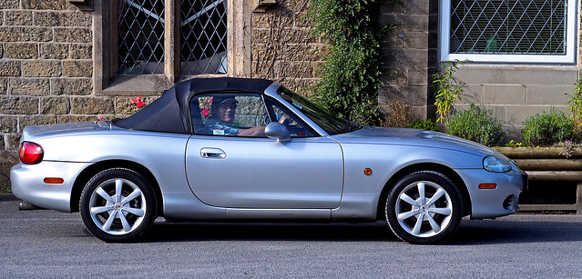 Dennis in his MX5