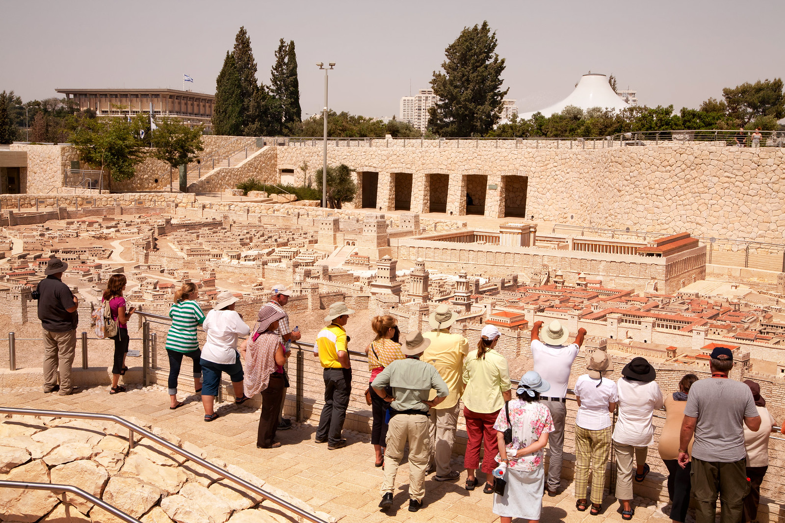 Jerusalem_ The Israel Museum _Model_2nd Temple_3_Noam Chen_IMOT