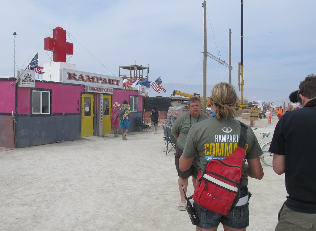 Rampart Urgent Care | The doctor being interviewed, Bryan Bl