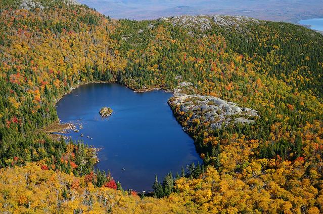 tumbledown pond