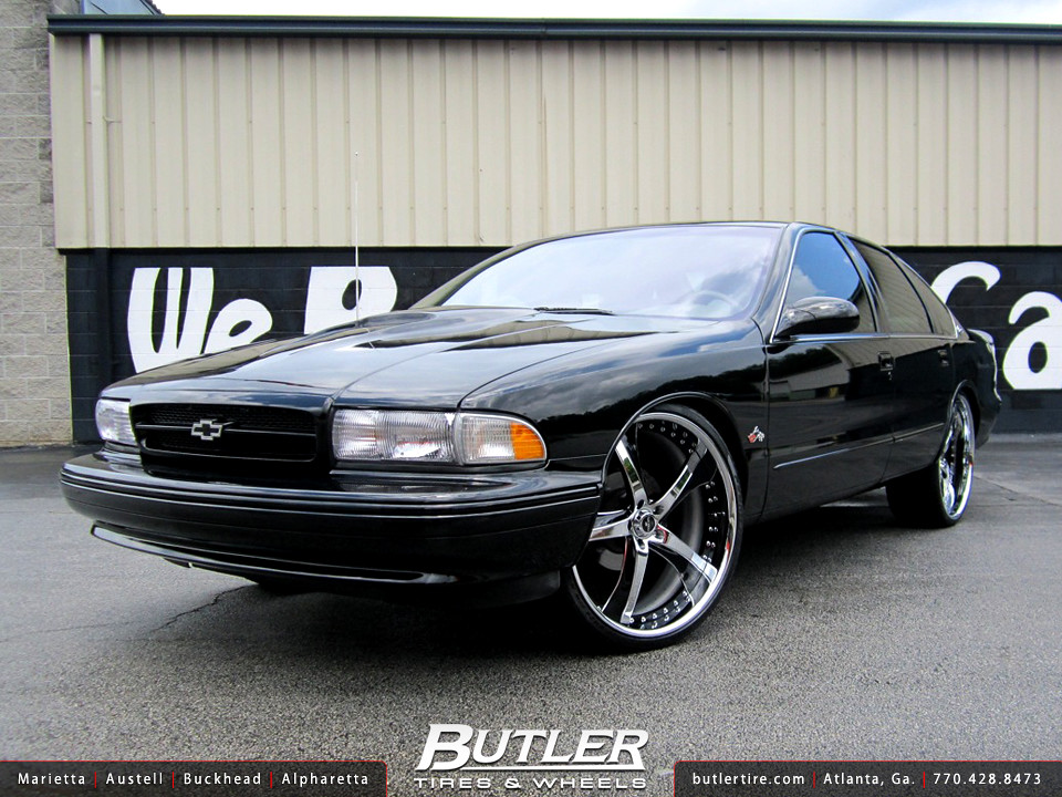 Chevy Impala SS with 24in Savini SV29 Wheels | Additional Pi