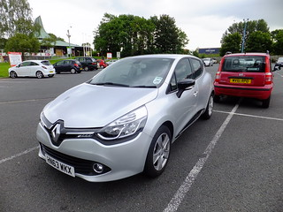 Rental Car Review : Renault Clio 1.2 | by stevenbrandist