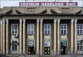 Supermarket in the defunct 1957 'Cinema Dawn', Nowa Huta - recently restored (7/11 gy36)