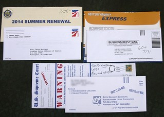 Base Connect junk mail | by Judith E. Bell