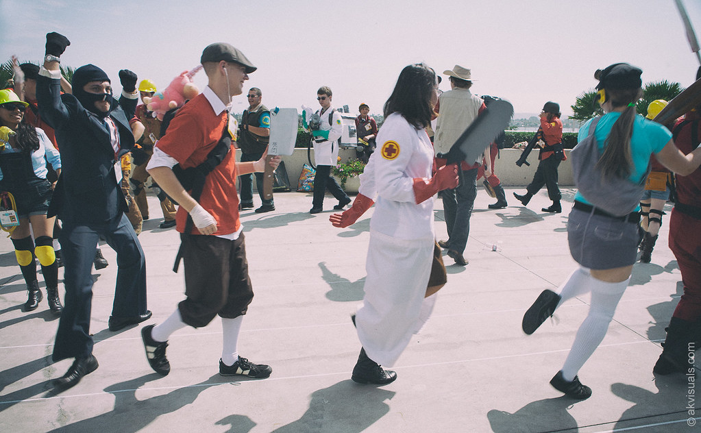TF2 Conga Line Taunt Cosplay | Website: alexkayvisuals com F… | Flickr