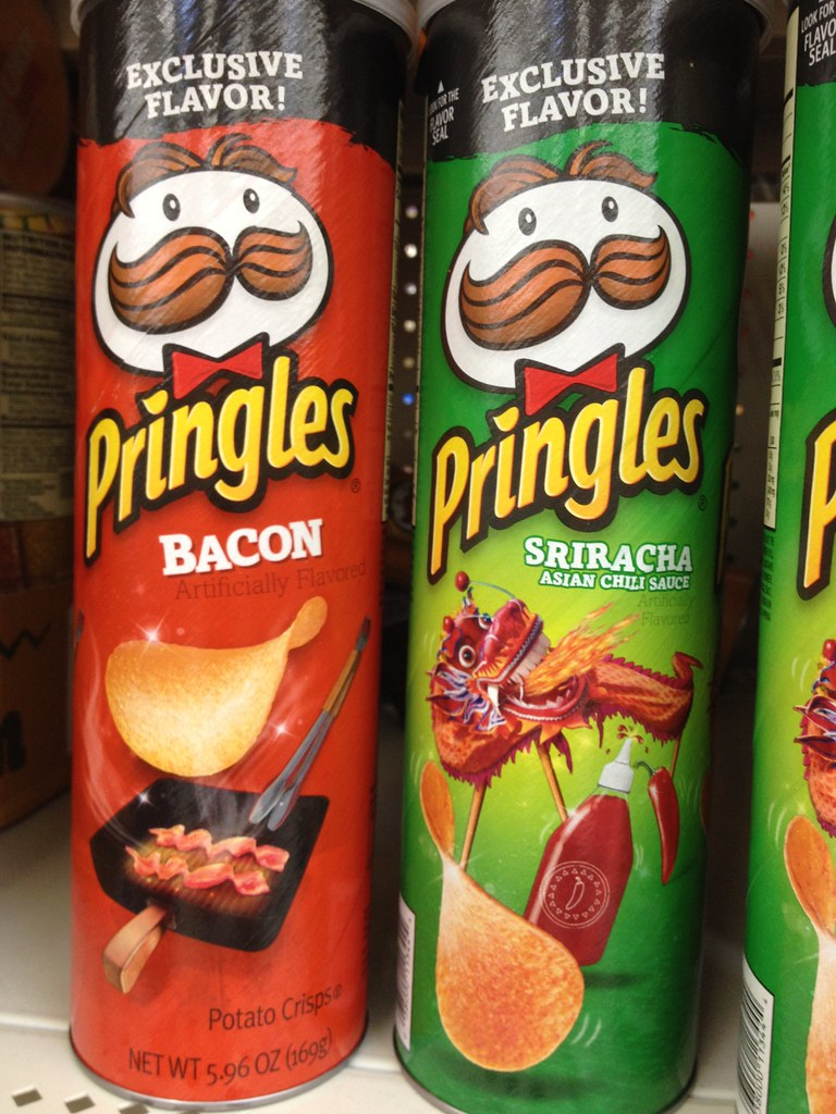 Wal-Mart exclusive Pringles flavors (2014)   Both of these a