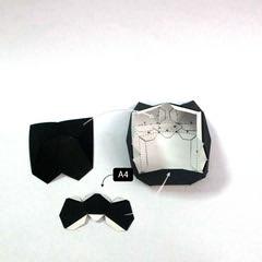 วิธีทำโมเดลกระดาษแบทแมน (Batman Papercraft Model) 007