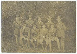 Officers of the 14 Australian Field Ambulance - November 1917