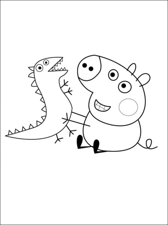 Peppa Pig Desenhos Do Peppa Pig Para Colorir Pintar Imprimir